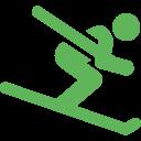 direkter Zugang zum Skihang